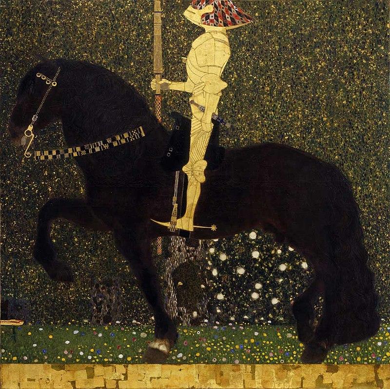 художник Густав КЛИМТ (1862-1918) / «Золотой Рыцарь»