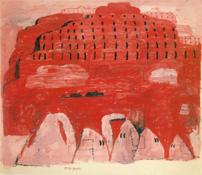 художник Филипп ГУСТОН (1913-1980) / «Окраина»
