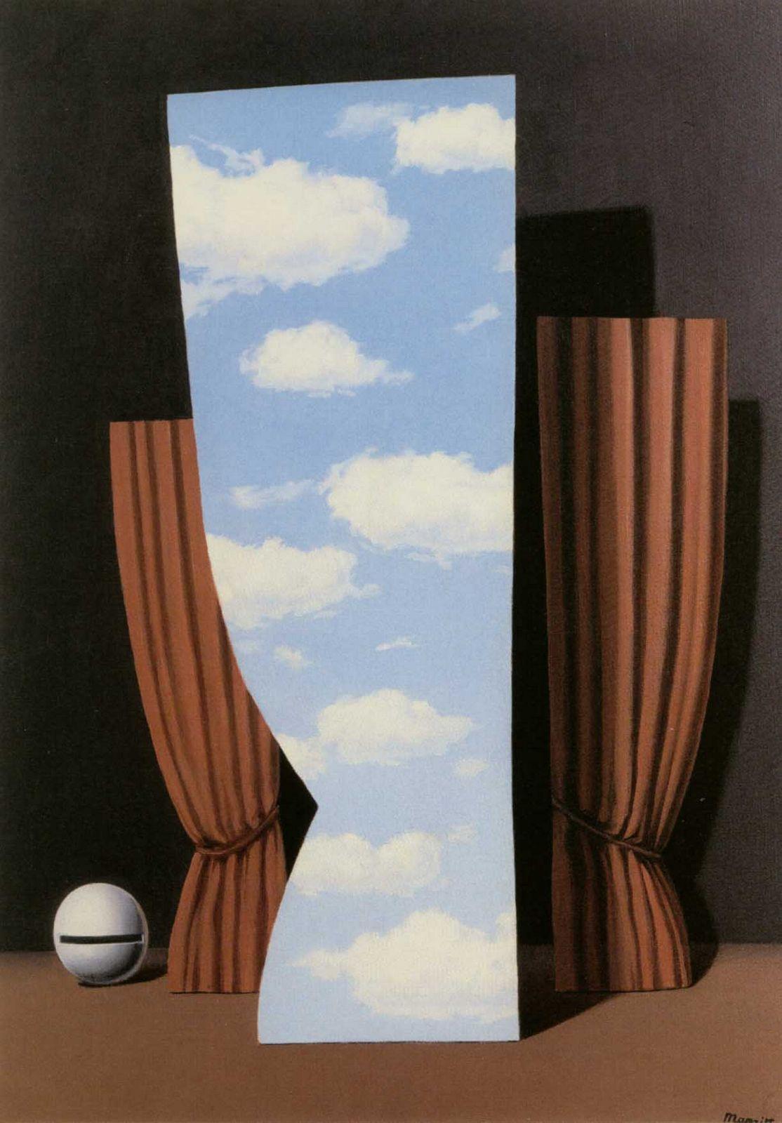 Рене Магритт / «La Gioconda» / 1960