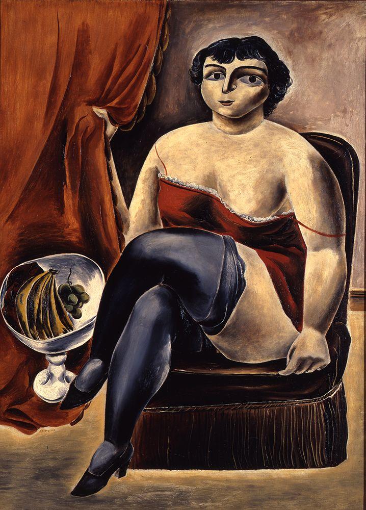 художник Ясуо КУНИЁСИ (1893-1953) / «Артистка цирка отдыхает»