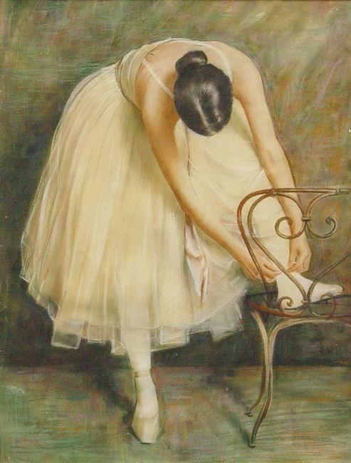 художник Дмитрий НАЛБАНДЯН (1906-1993) / «Балерина»