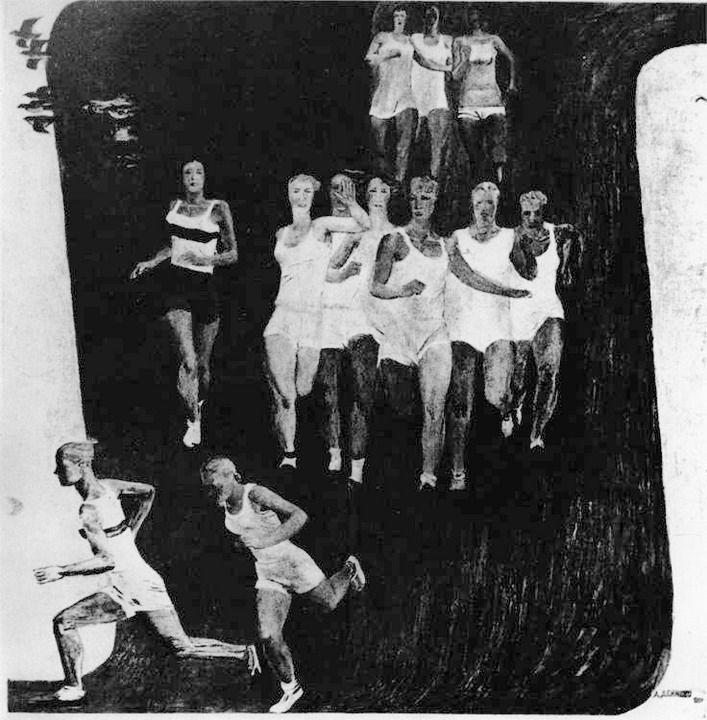 Александр Дейнека / «Кросс» / 1931