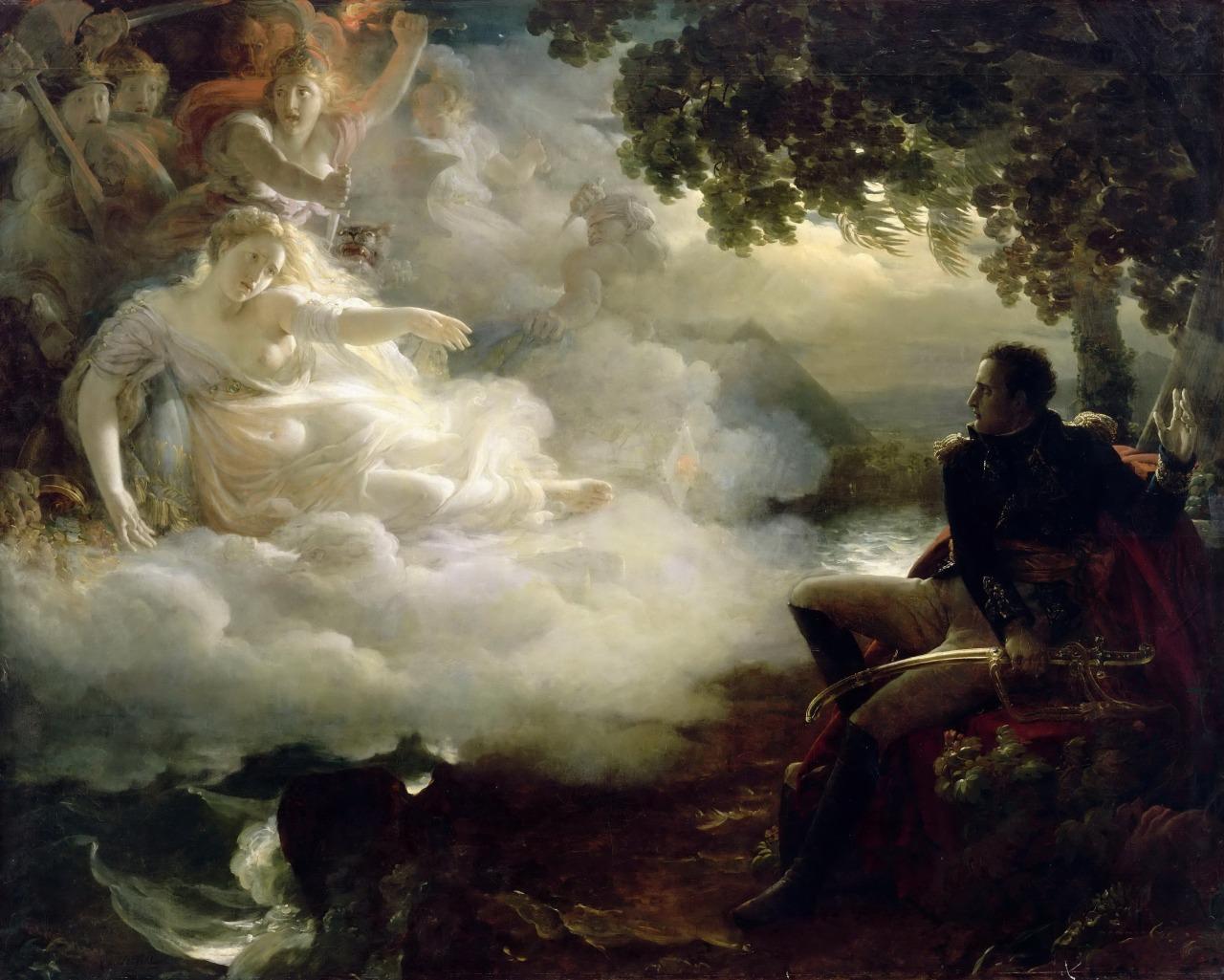 Жан-Пьер Франк / «Аллегория Французской республики , призывающей Наполенона вернуться из Египта» / 1810