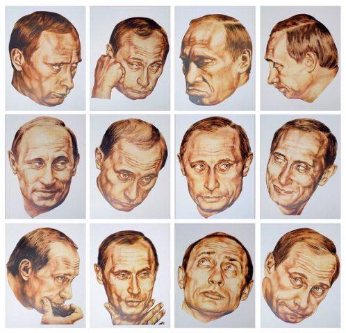 Врубель & Тимофеева / Календарь «12 настроений президента» / 2001