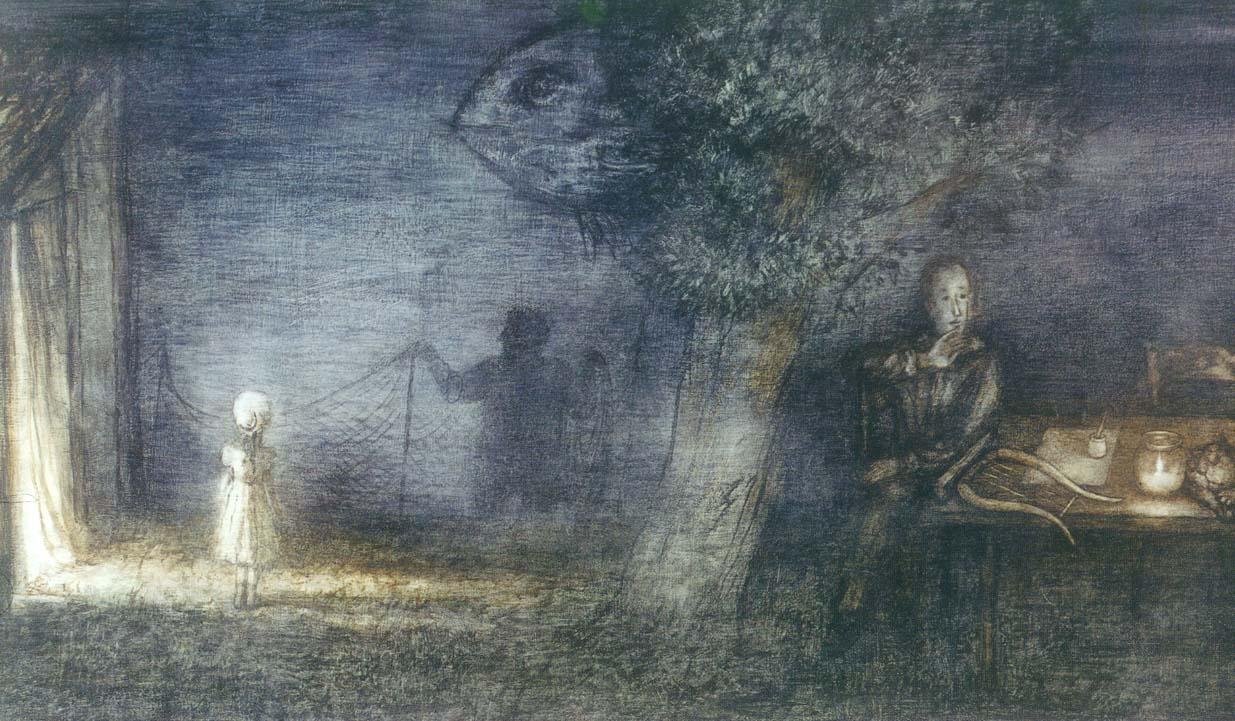 художник-постановщик / мультипликатор Франческа ЯРБУСОВА (1942) / «Сказка сказок»