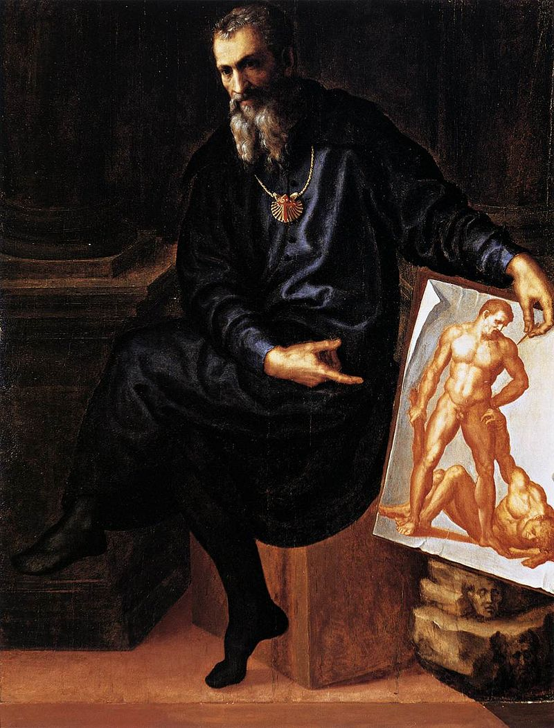 художник / скульптор Баччо БАНДИНЕЛЛИ (1488-1560) / «Автопортрет»