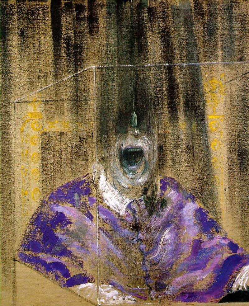художник Фрэнсис БЭКОН (1909-1992) / «Голова VI»