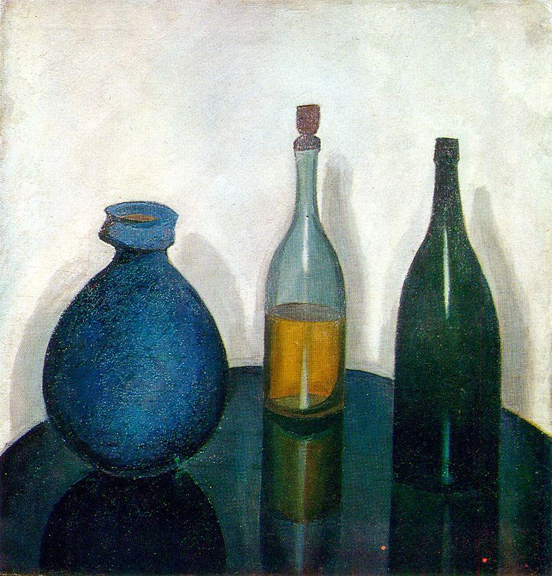 художник Роберт ФАЛЬК (1886-1958) / «Бутылки и кувшин»