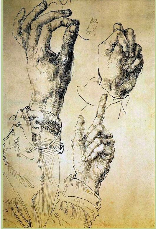 Альбрехт Дюрер / «Этюд. Руки» / 1494