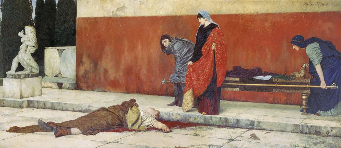 Василий Смирнов / «Смерть Нерона» / 1888