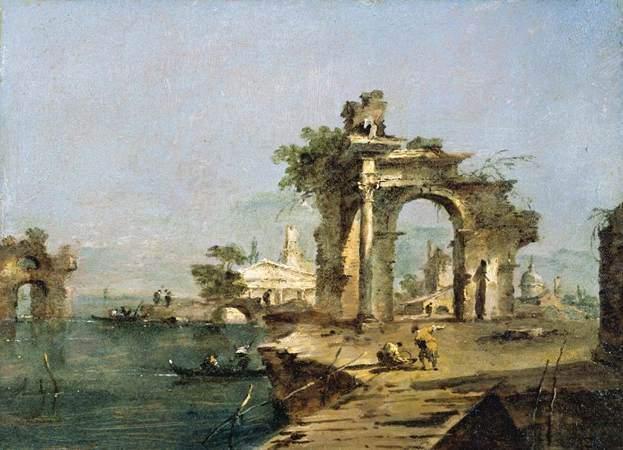 художник Франческо ГВАРДИ (1712-1793) / «Venetian Capriccio»