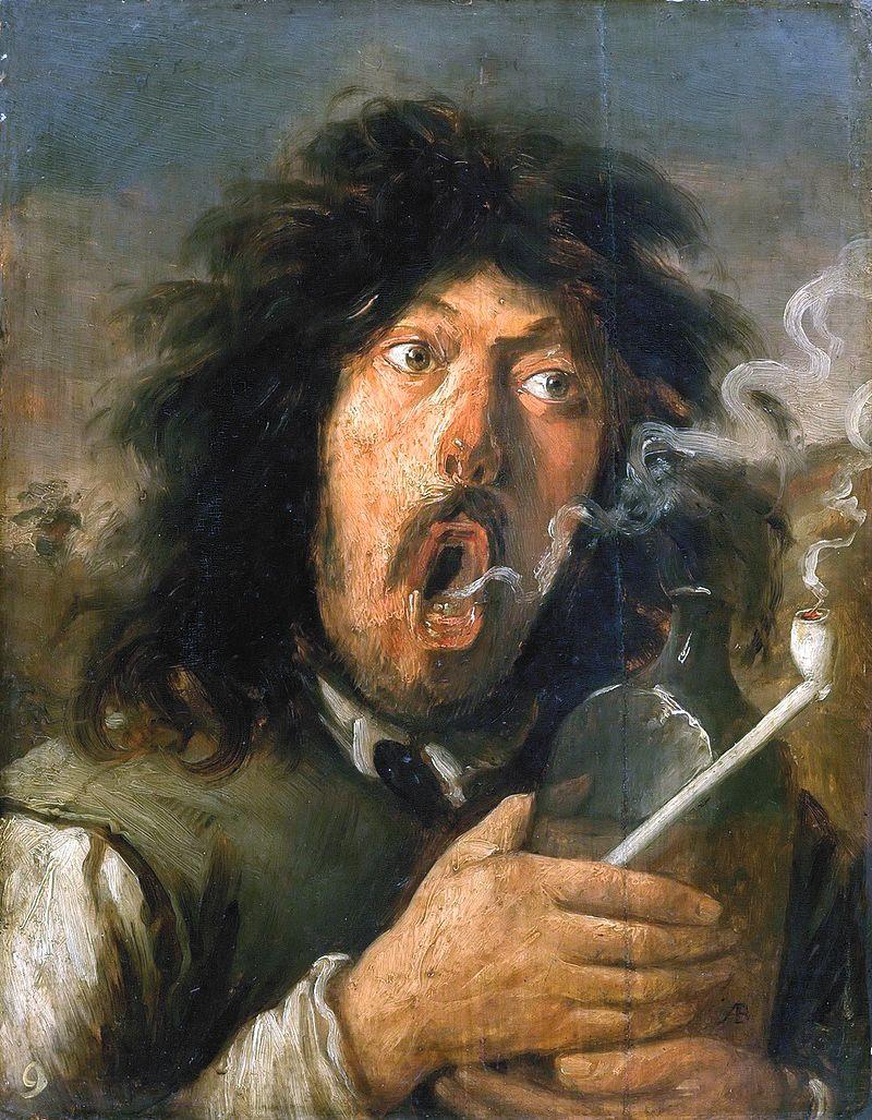 Йос ван Красбек / «Курильщик», предположительный автопортрет / 1635