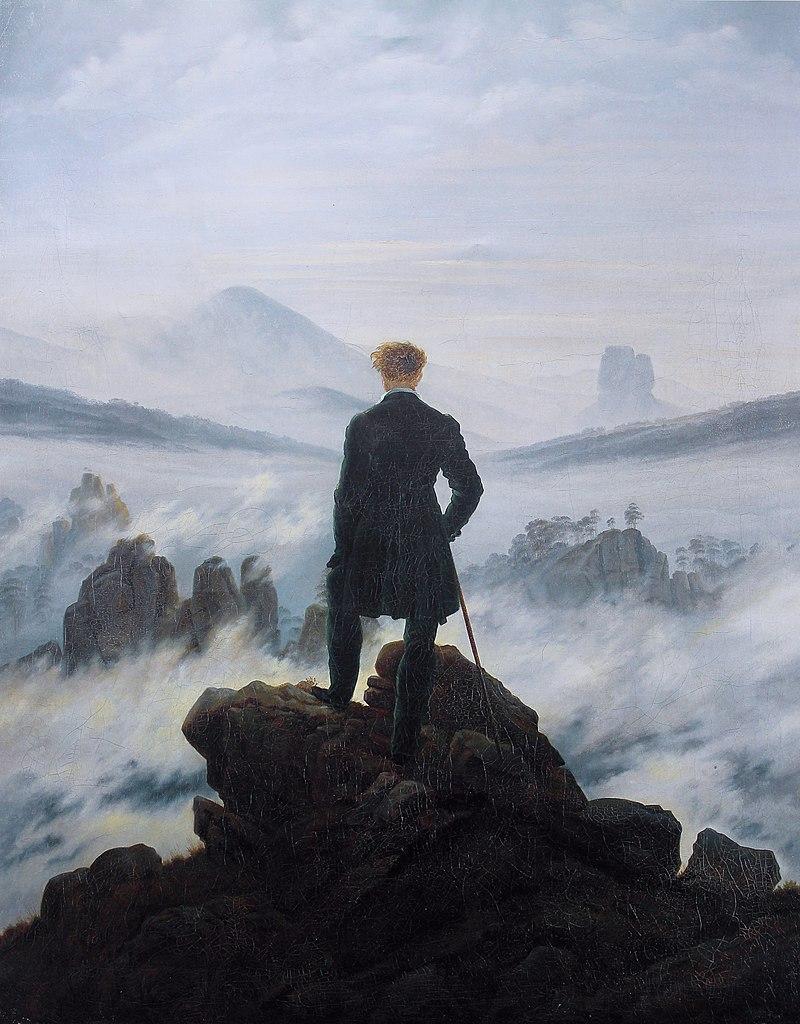 Каспар Давид Фридрих / «Странник над морем тумана» / 1818