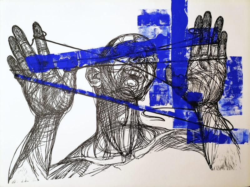 Светлана Соловьева / «Принятие синего» / 2020