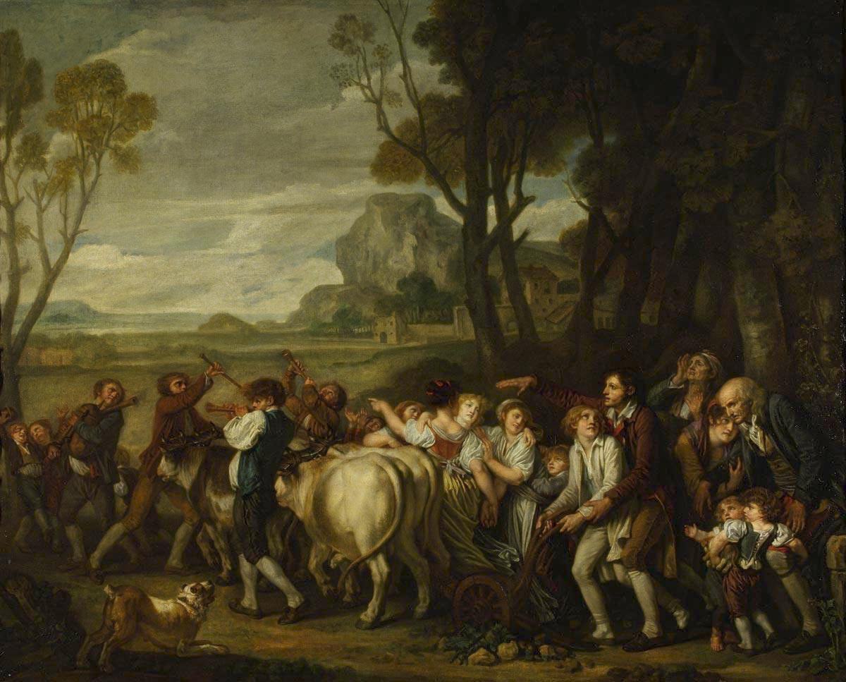 Жан-Батист Грез / «Первая борозда» / 1801