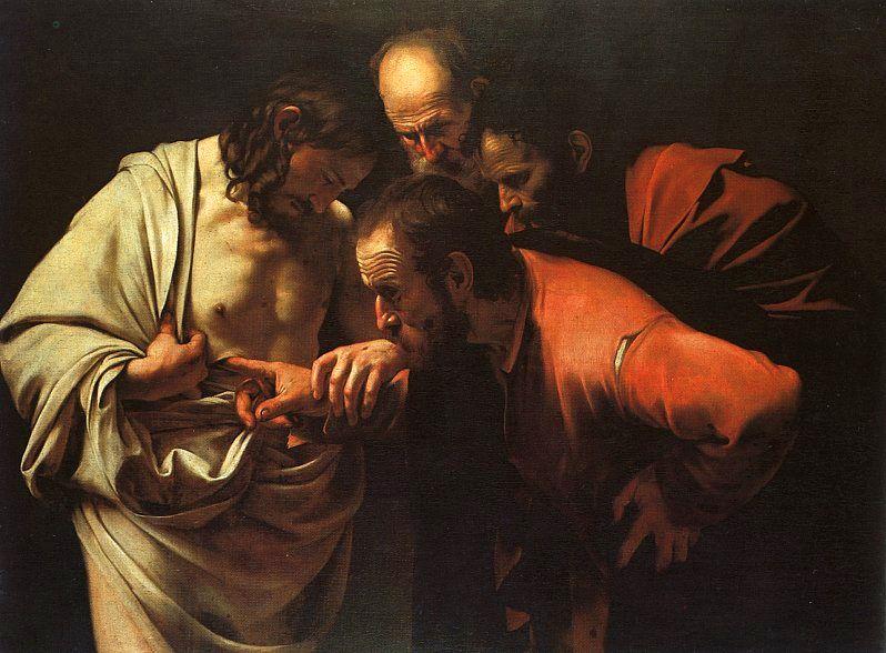 Караваджо / «Уверение святого Фомы» / 1601-02