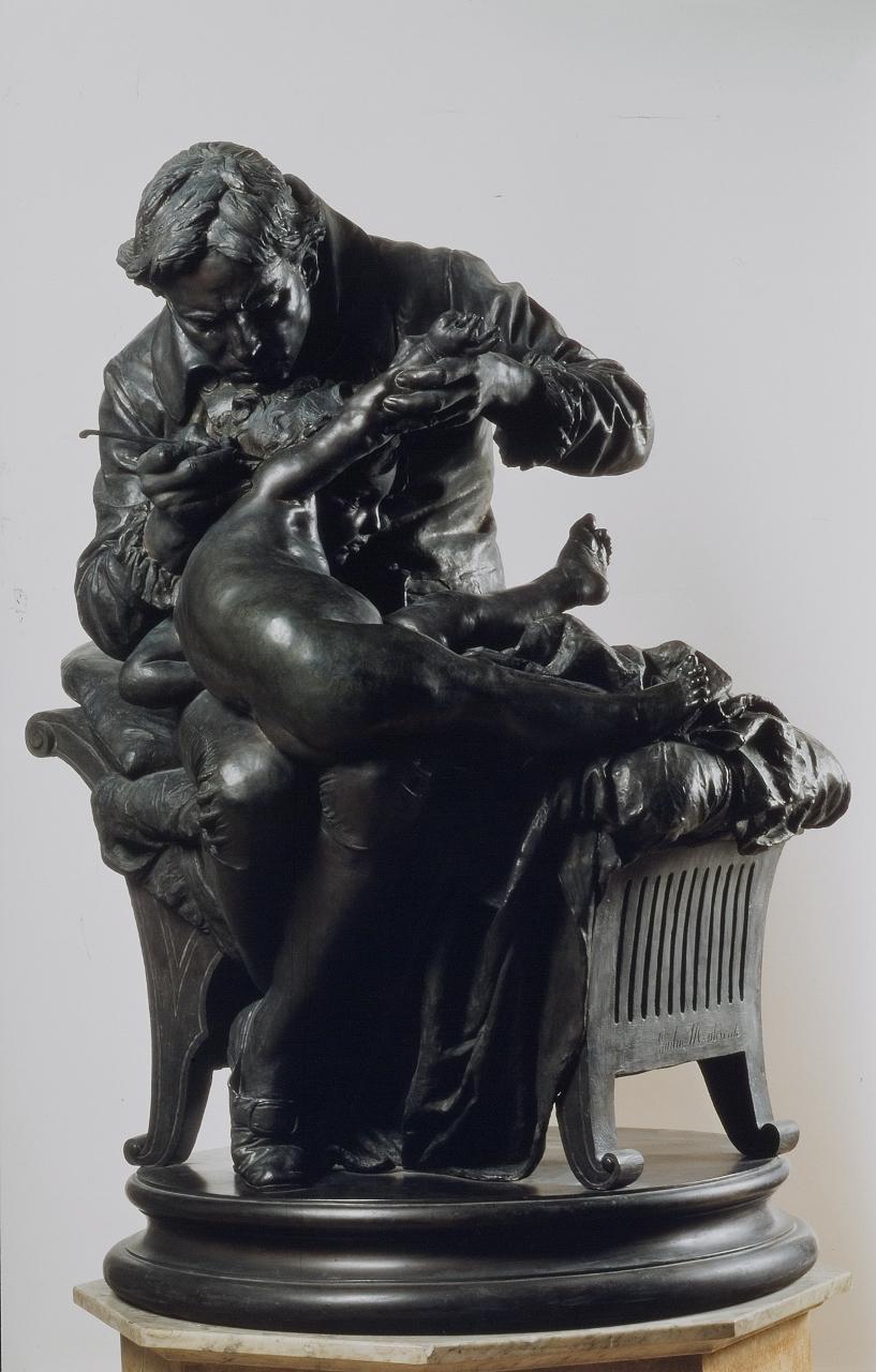 Джулио Монтеверде / «Эдвард Дженнер прививает своего сына» / 1873