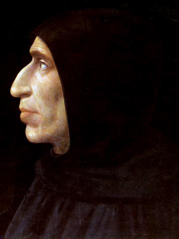 Фра Бартоломео / «Портрет Джироламо Савонаролы» / 1498