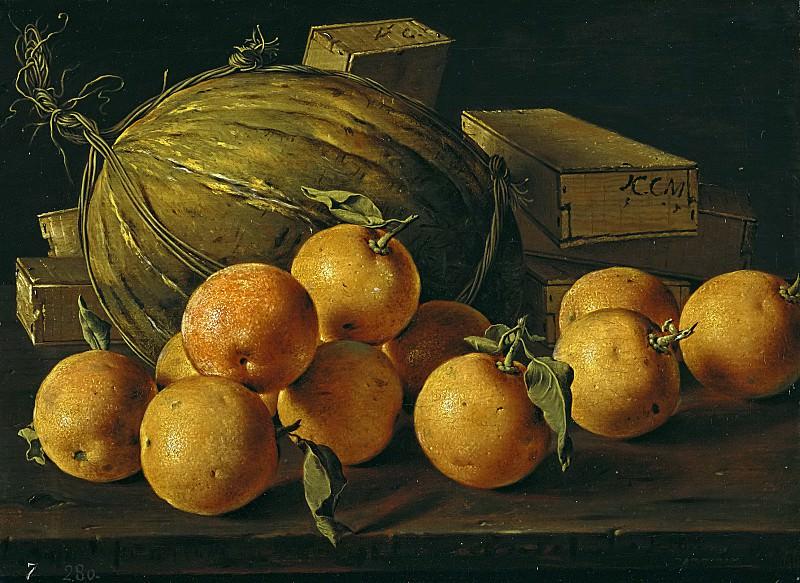 Луис Мелендес / «Апельсины, дыня и коробки конфет» / XVIIIв.