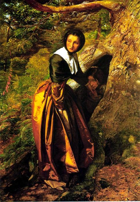 Джон Эверетт Миллес / «Роялист, объявленный вне закона» / 1829