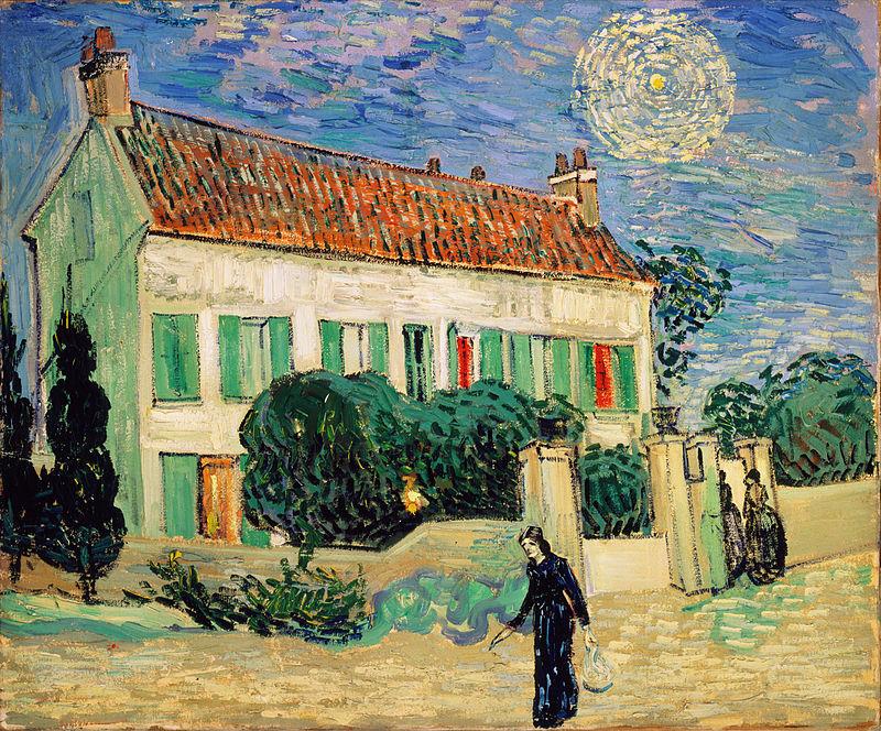 Винсент ван Гог / «Белый дом ночью» / 1890