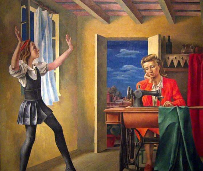 Антонио Берни / «Первые шаги» / 1936