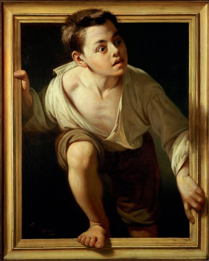 Пере Боррель дель Казо / «Бегство от критики» / 1874