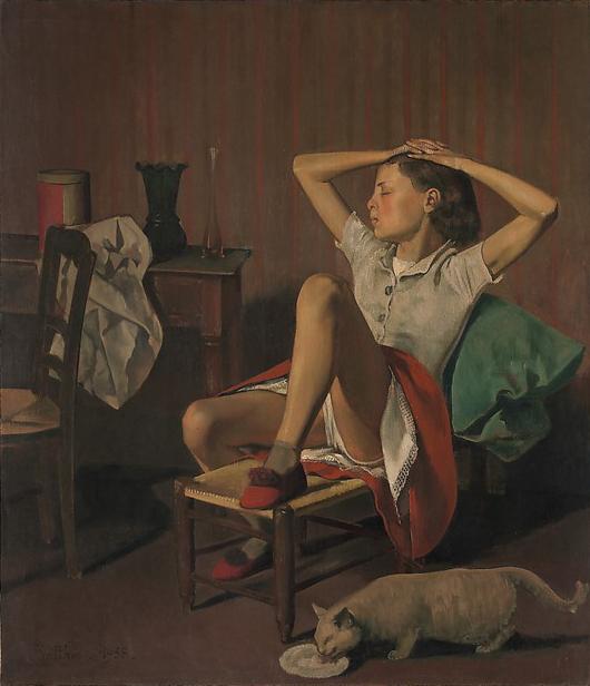 Бальтюс / «Мечтающая Тереза» / 1938