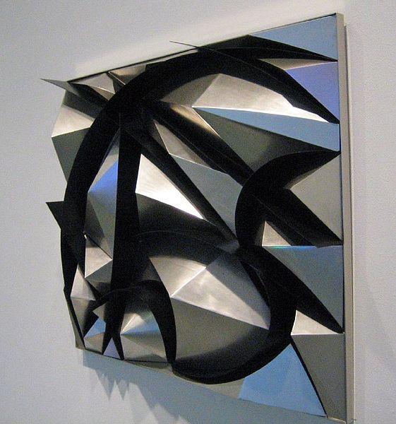 художник Джакомо БАЛЛА (1871-1958) / «Скульптурная конструкция шума и скорости»