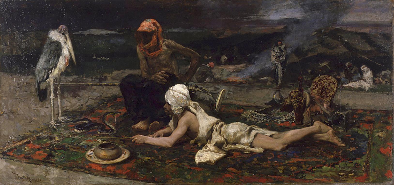 Мариано Фортуни / «Заклинатели змей» / 1869