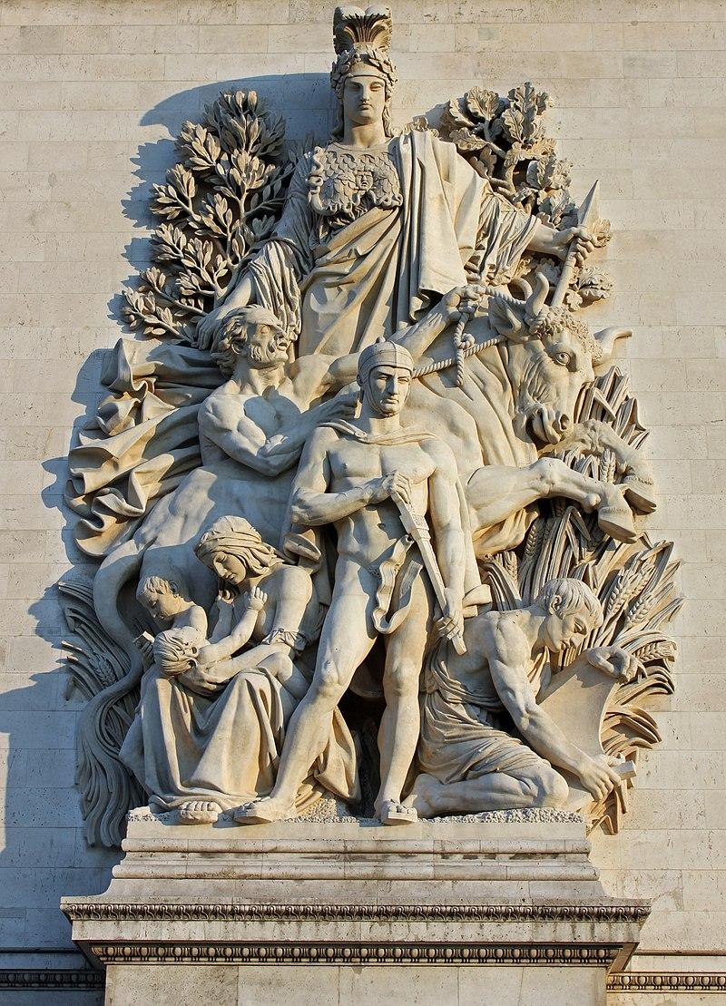 Антуан Этекс / «Мир 1815 года», Триумфальная арка / 1806-36