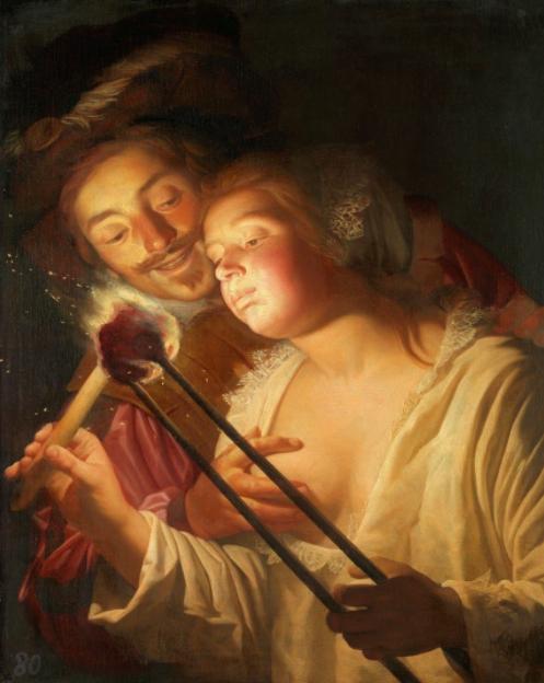 Герритт ван Хонтхорст / «Солдат и девушка» / 1621