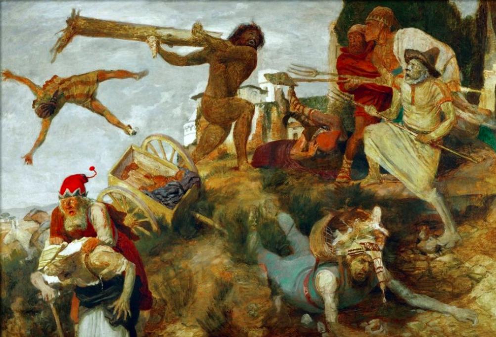 Арнольд Бёклин / «Неистовый Роланд» / 1901
