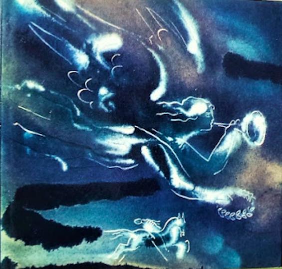 «Шандор Петефи - Любовь и свобода», иллюстрация Г.А.В.Траугот