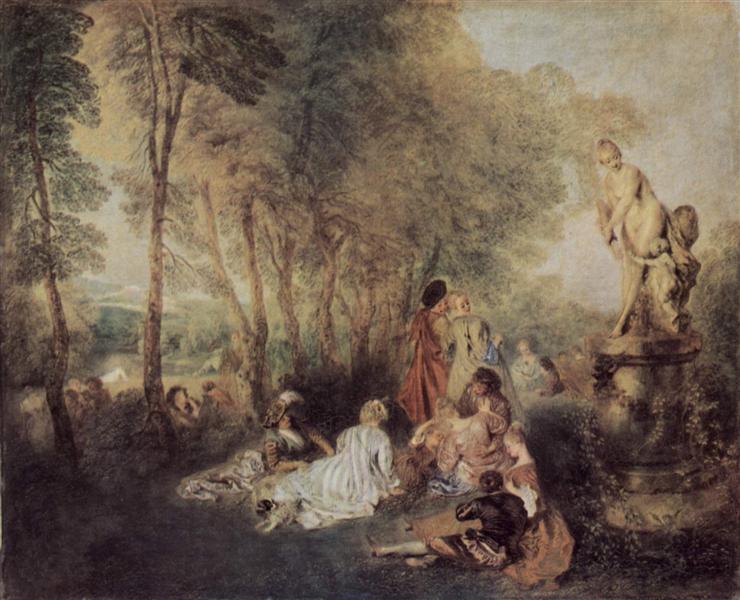Антуан Ватто / «Фестиваль любви» / ок.1717