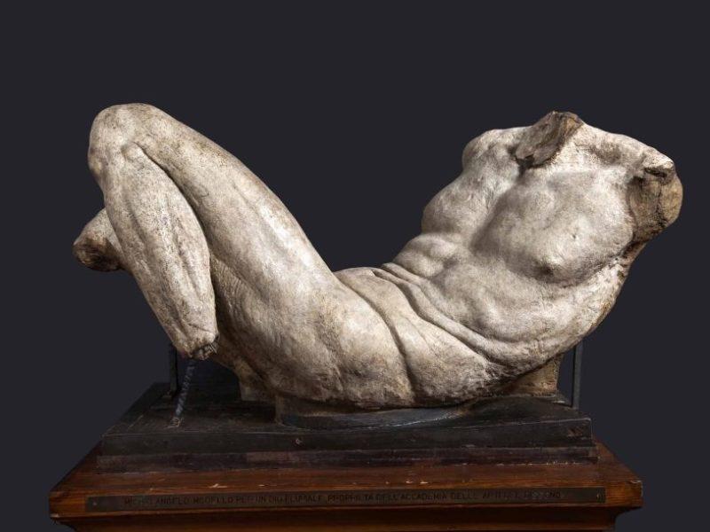 Микеланджело / «Статуя речного божества»