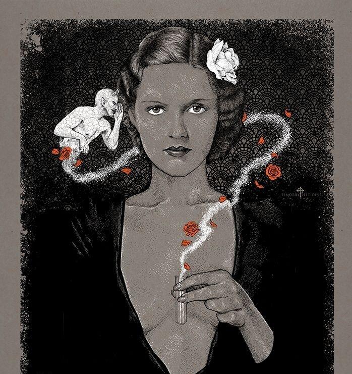 Тимоти Питтидес / «Cocaine Fiends» / 2016