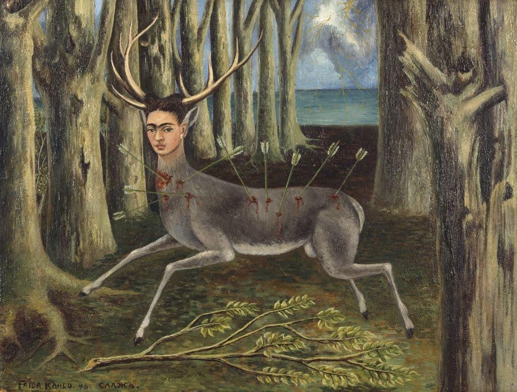 художница Фрида КАЛО (1907-1954) / «Раненый олень»