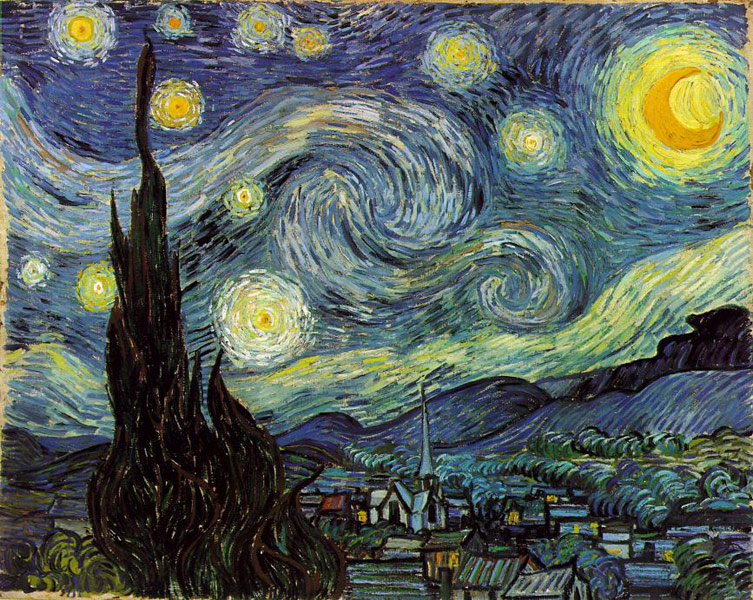 Винсент Ван Гог / «Звездная ночь» / 1889