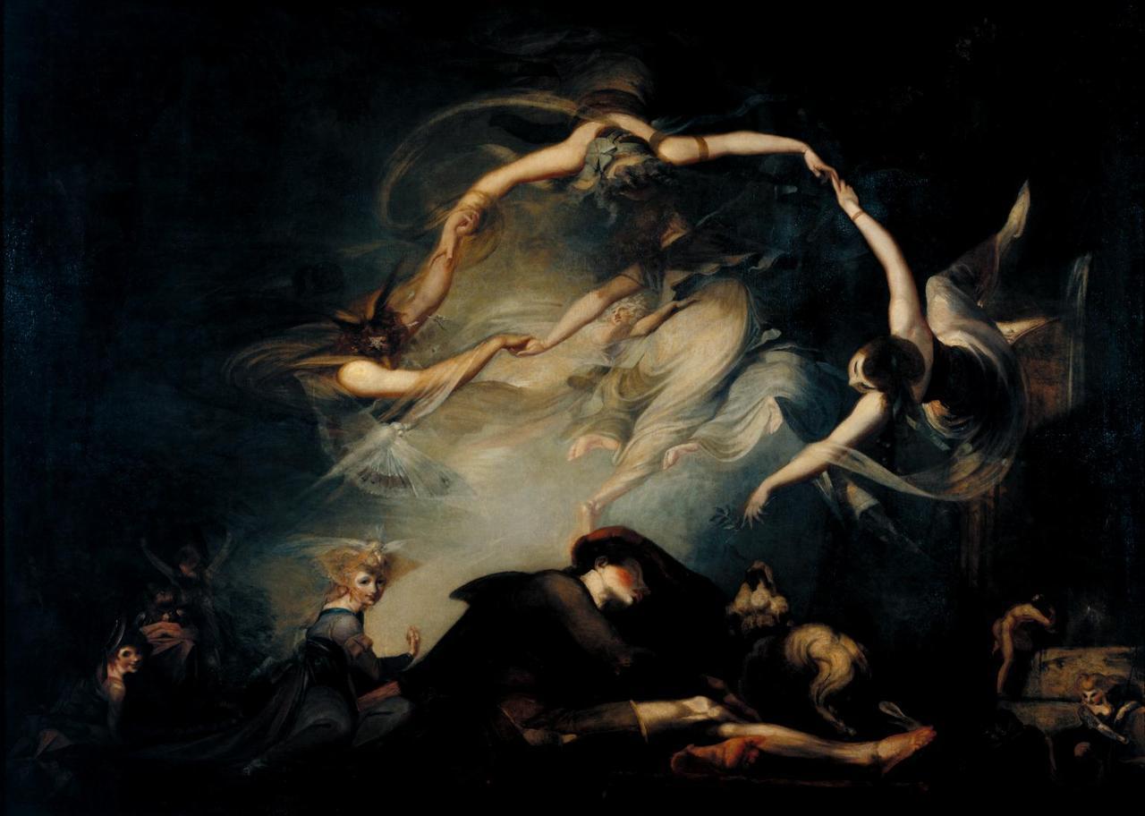 Иоганн Генрих Фюсли / «Сон пастуха из «Потерянного рая» / 1793