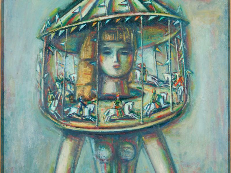 художник Александр ТЫШЛЕР (1898-1980) / из серии «Карусель»