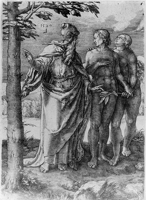 Лукас ван Лейден / «Первый запрет» / 1529