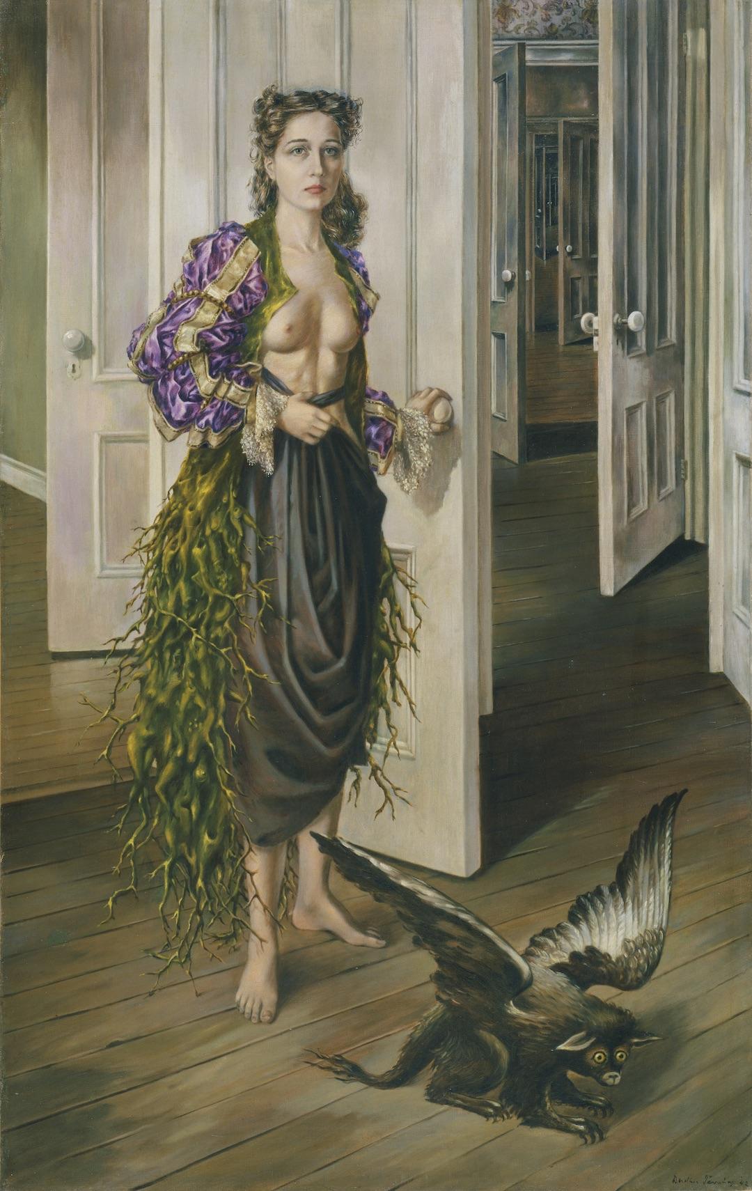 художница Доротея ТАННИНГ (1910-2012) / «Birthday» / 1942