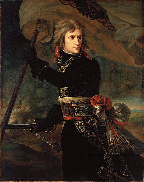Антуан-Жан Гро / «Наполеон Бонапарт на Аркольском мосту» / 1797