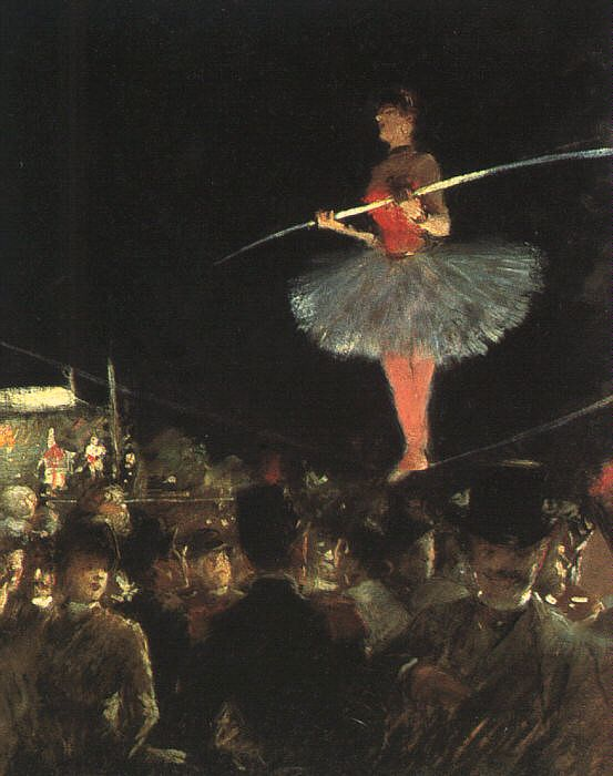 Жан-Луи Форен / «Танцовщица на проволоке» / 1885