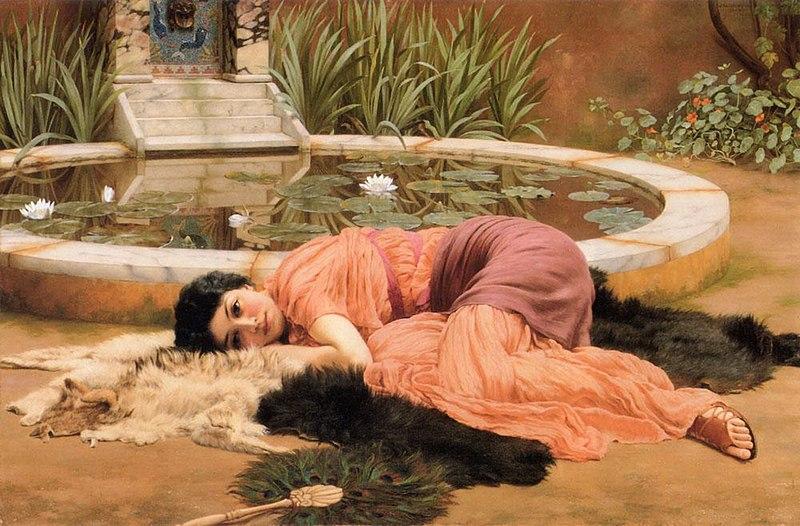 Джон Уильям Годвард,/ «Сладкое безделье» / 1904