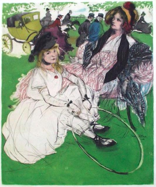 художник Жак ВИЙОН (1875-1963) / «Другое время: 1830, 1904»