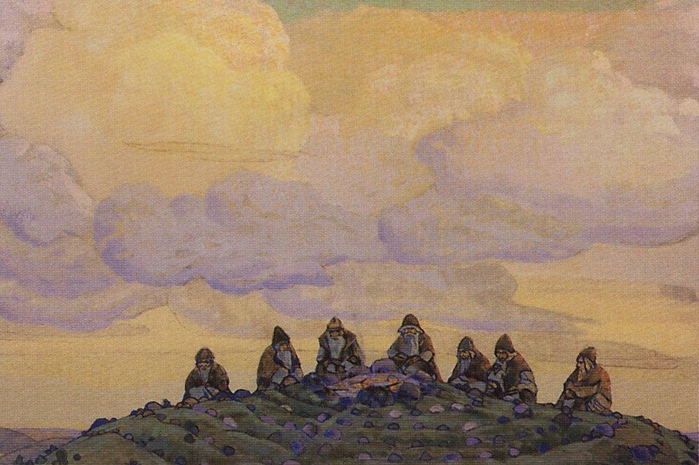 Николай Рерих / «Великая жертва» / 1910
