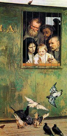 Николай Ярошенко / «Всюду жизнь» / 1888