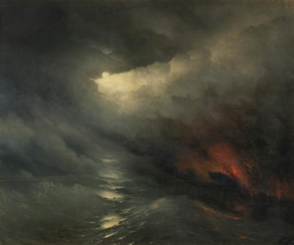 Иван Айвазовский / «Сотворение мира» / 1864